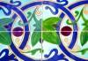 image of Sevilian floral ceramic tiles