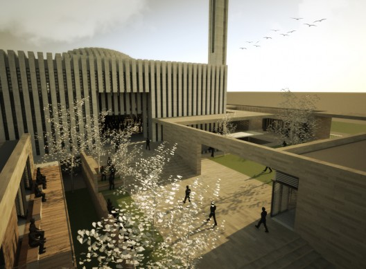 A Bioclimatic Mosque In Winsconsin Med O Med