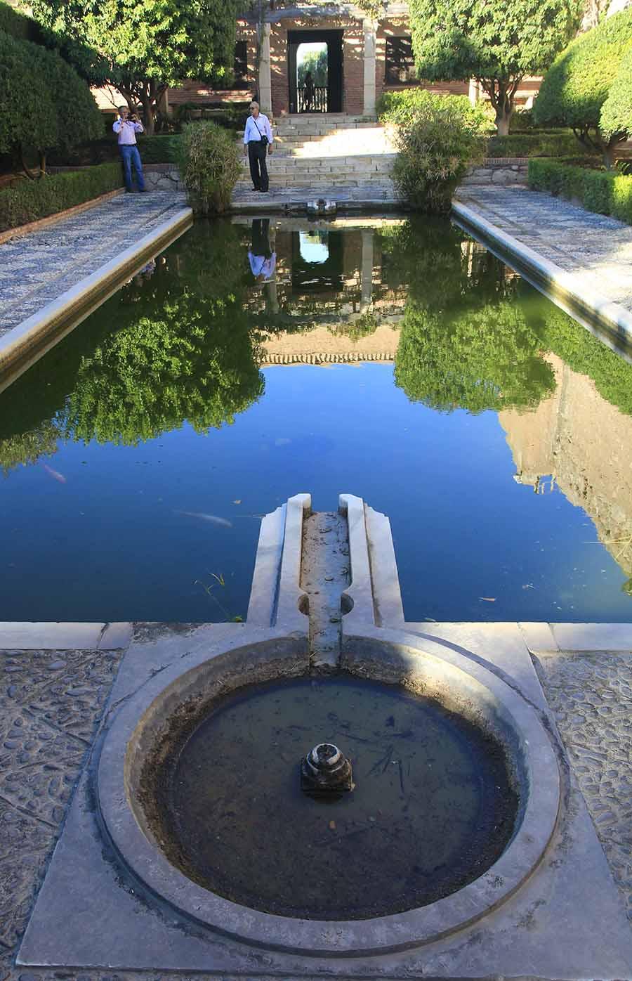 Funci Participated In The Iv Hispanic Arab Gardening Encounter  # Muebles Roman Malaga